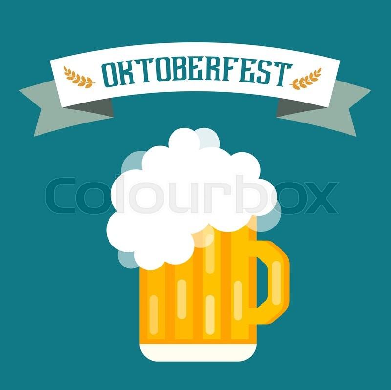 800x799 Beer Vector Icons Set. Beer Bottle, Beer Glass And Beer Label
