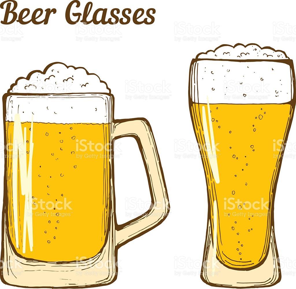 1024x1001 Beer Vector Art Collection