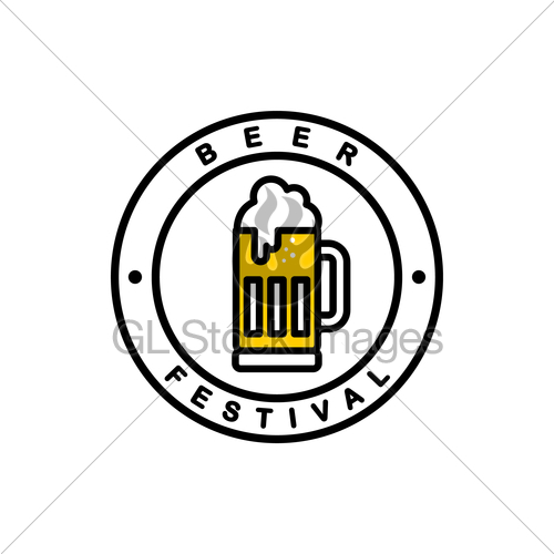 500x500 Cold Glass Of Beer Vector Gl Stock Images
