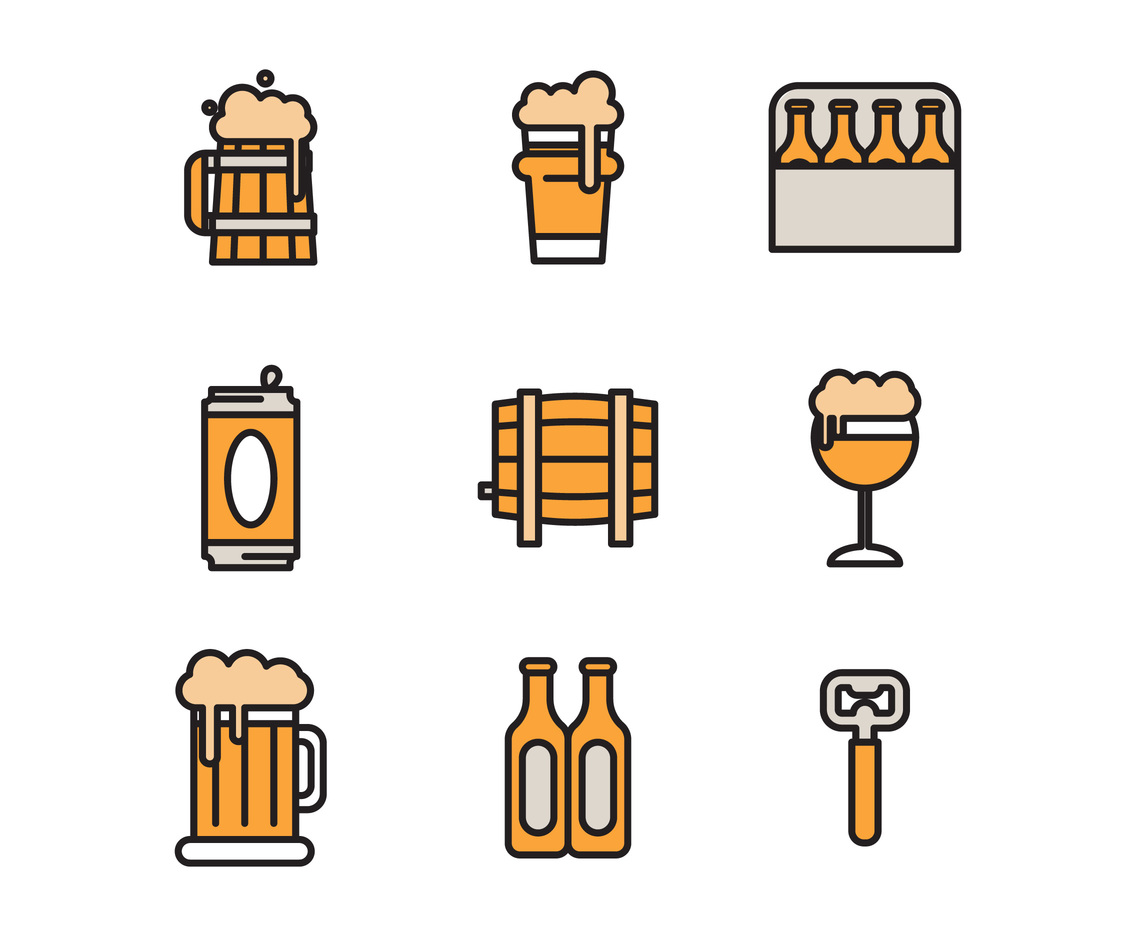 1136x936 Beer Icons Vector Art Amp Graphics