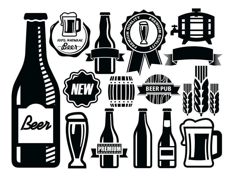750x575 Beer Vector Art Desktop Backgrounds