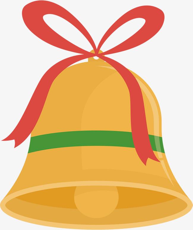 650x777 Christmas Golden Bells, Christmas Vector, Vector Png, Small Bell