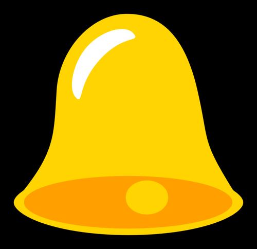 500x484 Yellow Bell Vector Image Public Domain Vectors
