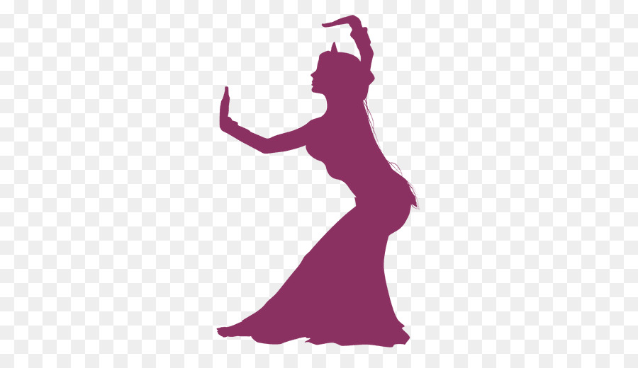 900x520 Belly Dance Silhouette Graphic Design