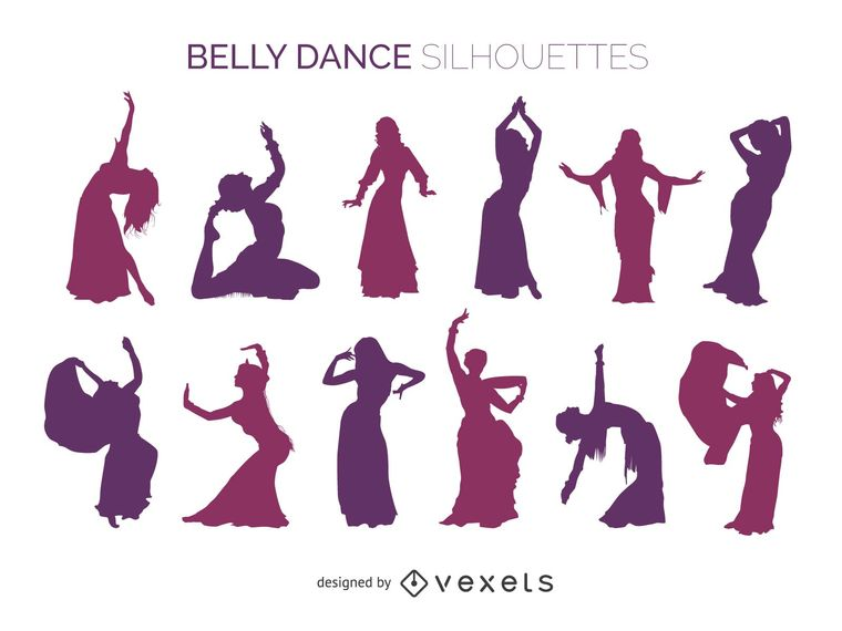 760x570 Belly Dancer Silhouettes