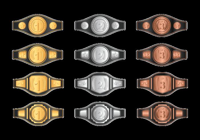 700x490 Champion Belt Vector