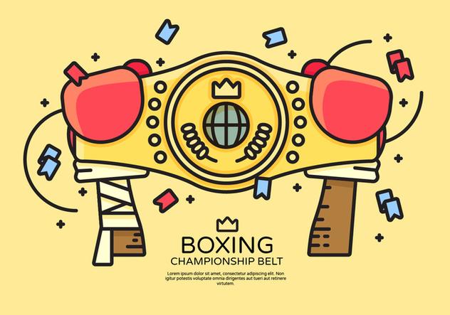 632x443 Championship Belt Vector Illustration Free Vector Download 421883