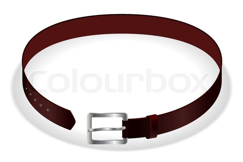 800x534 Vector Leather Belt Stock Vector Colourbox