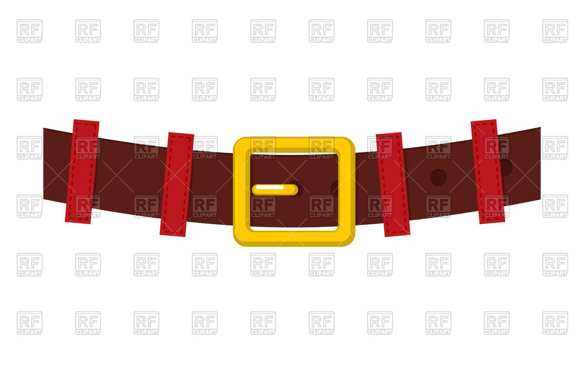 1200x752 Belt Santa Claus Vector Image Vector Artwork Of Signs, Symbols