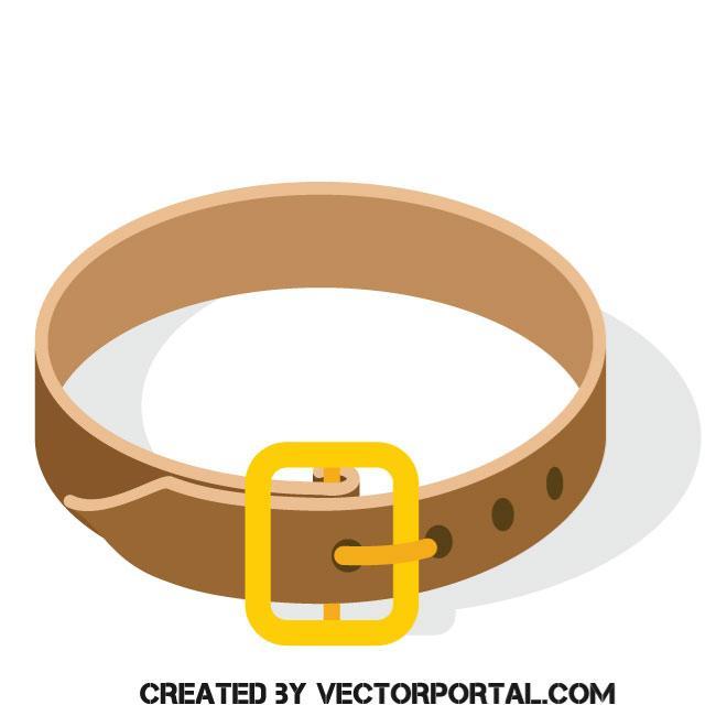 660x660 Belt Vector Image