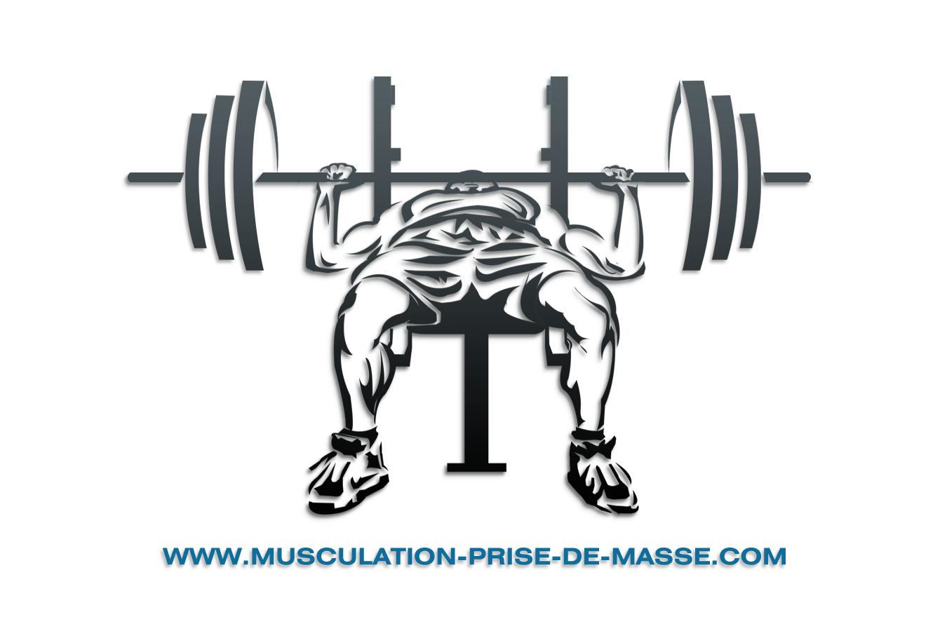 Bench Press Vector