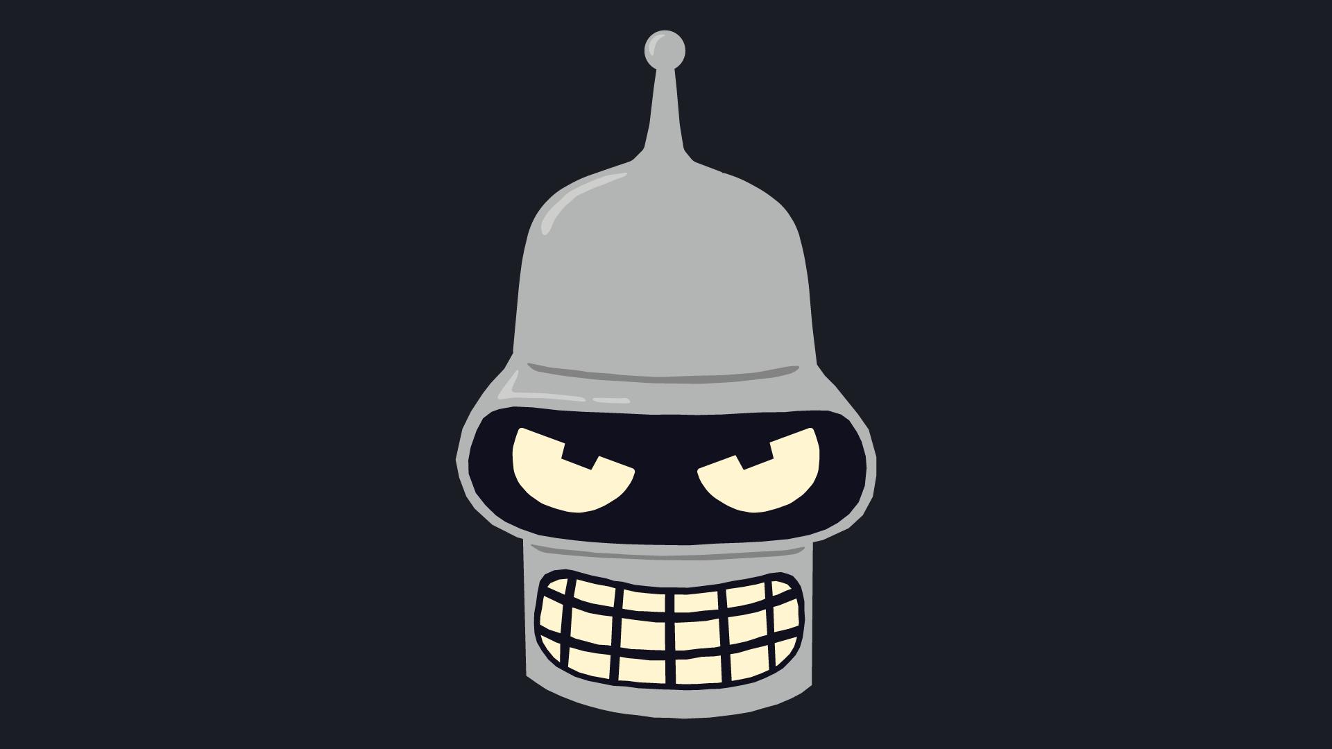 1920x1080 Bender From Futurama Vector Art Bender Futurama