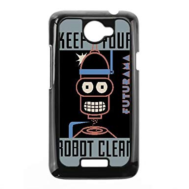 385x385 Bender Poster Futurama Vector Htc One X Cell Phone Case Black Tpu