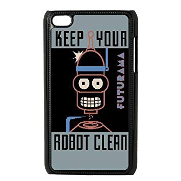 355x355 Bender Poster Futurama Vector Ipod Touch 4 Case Black Persent