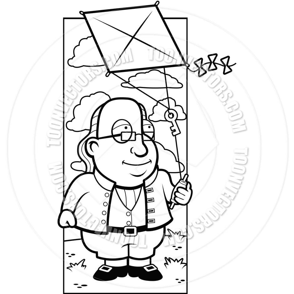 940x940 Kite Clipart Benjamin Franklin