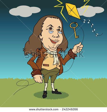 450x470 Benjamin Franklin, Cartoon Vector Illustration Ideas For Huw