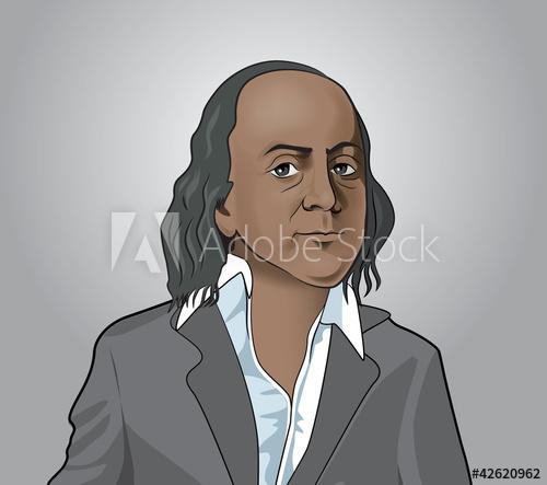 500x443 Benjamin Franklin