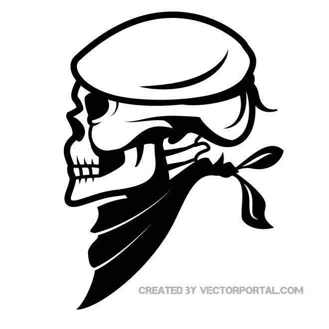 660x660 Drawn Soldier Skull Logo