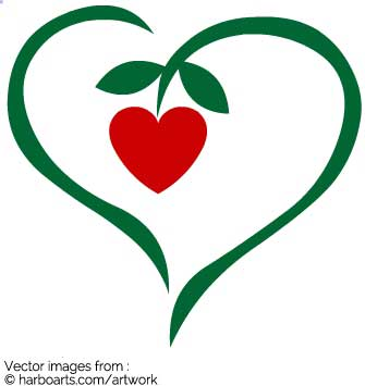 335x355 Download Heart Plant With Heart Berry