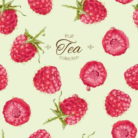 539x539 Fruit Tea With Berry Background Vector Free Download