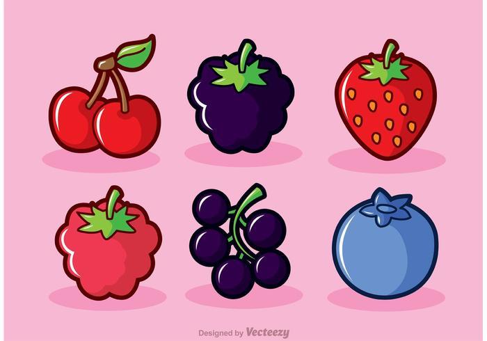 700x490 Berry Fruits Vectors