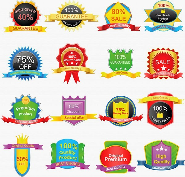 600x573 Free Vector Labels, Stickers And Badges On Behance