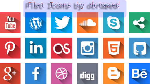 500x282 50 Sets Of Best Free Social Media Icons In Psd And Vector