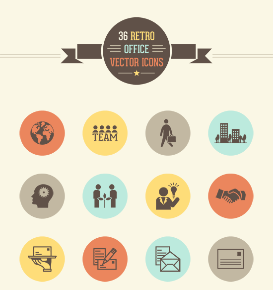 550x583 15 Best Free Vector Icon Sets August 2018