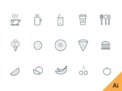500x375 Best Free Glyph Icons (Vector, Psd, Png)