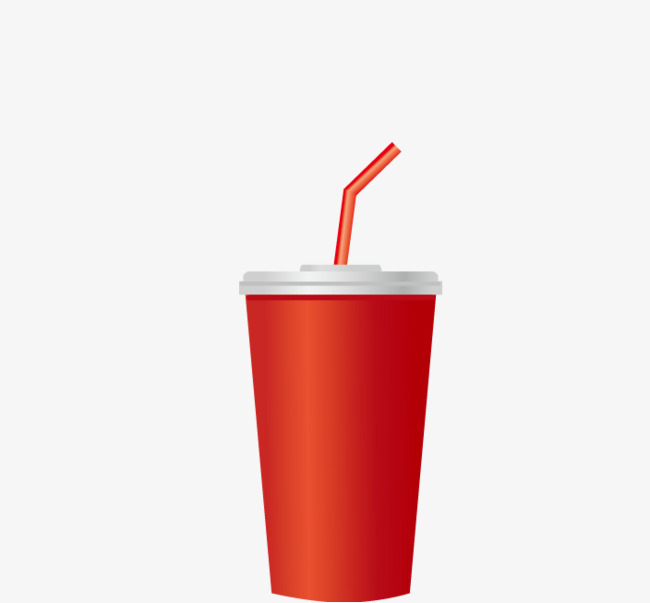 650x603 Red Beverage Cup, Cartoon, Red, Cup Png And Vector For Free Download