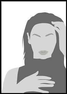 216x300 Beyonce Portrait, Vector Art, Celebrity Portrait, Vector Art