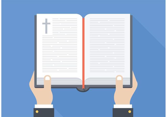 700x490 Free Open Bible Vector