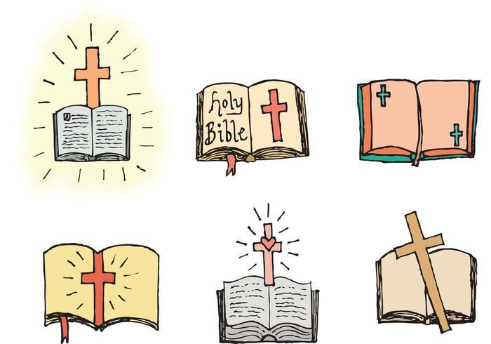 700x490 Free Open Bible Vector Series