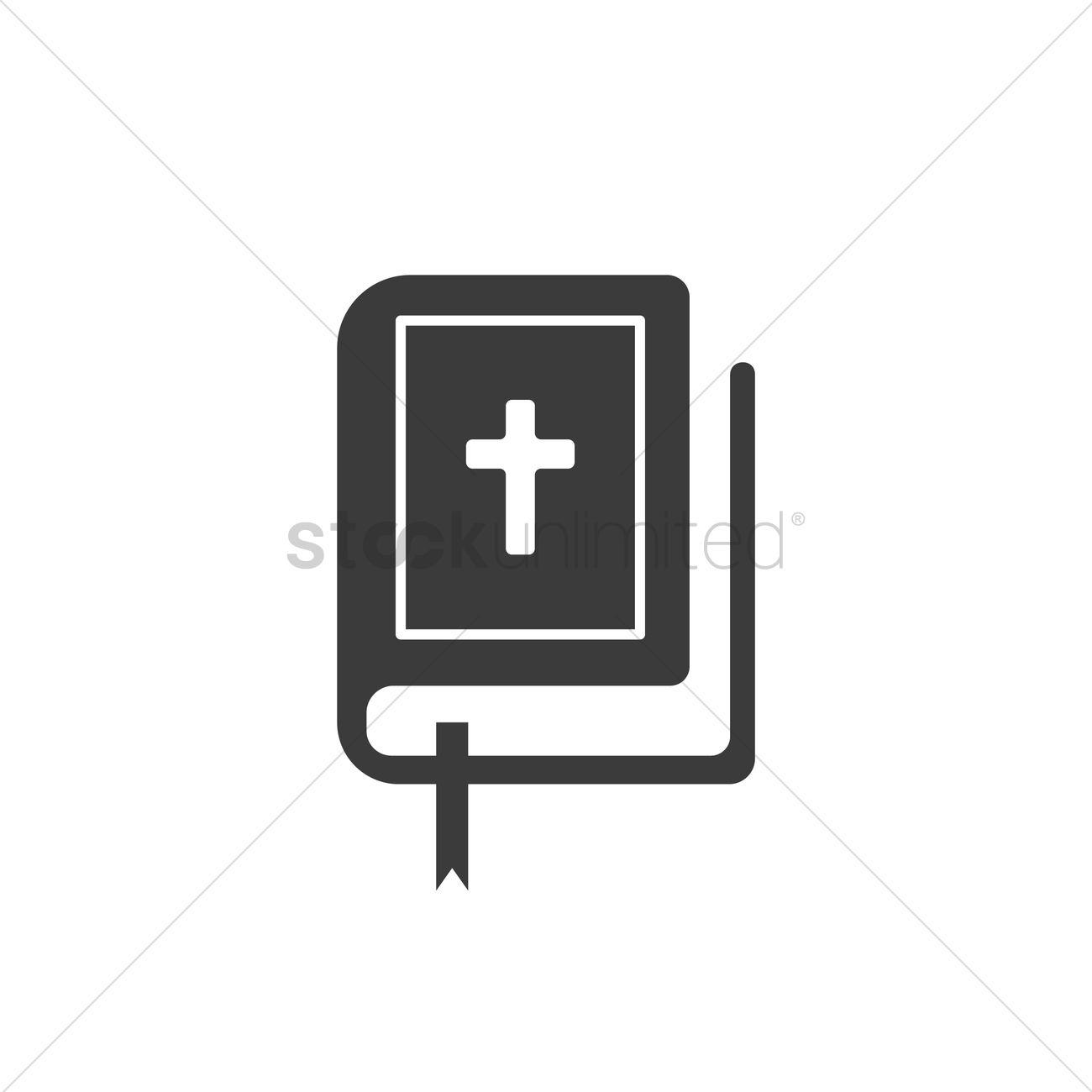 1300x1300 Bible Vector Image