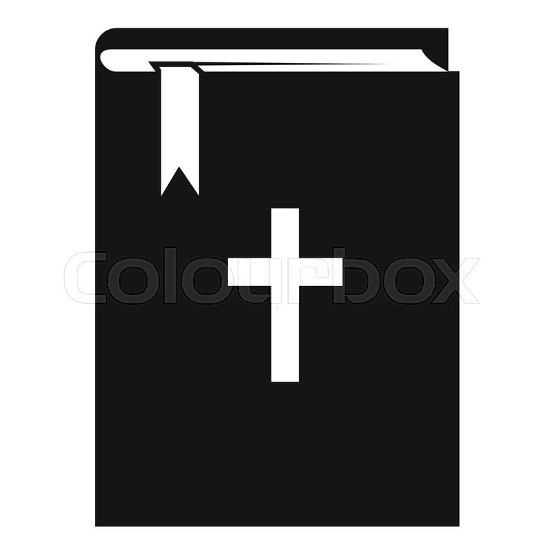 800x800 Bible Icon. Simple Illustration Of Bible Vector Icon For Web