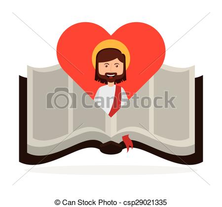 450x420 Holy Bible Design, Vector Illustration Eps10 Graphic .