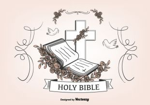 310x217 Open Bible Vector Free Free Vectors Ui Download