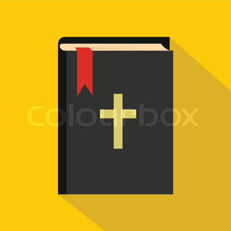 799x800 Bible Icon. Flat Illustration Of Bible Vector Icon For Web Stock