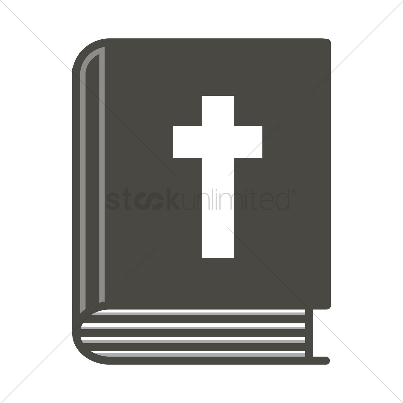 1300x1300 Bible Vector Image