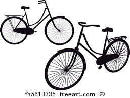 257x194 Free Art Print Of Old Bicycle With Birds, Vector . Vintage Bicycle