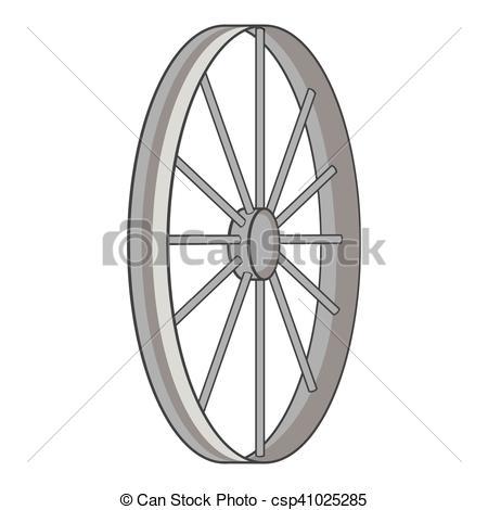 450x470 Bicycle Wheel Icon, Gray Monochrome Style. Bicycle Wheel Icon