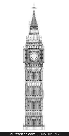 236x464 Big Ben Clipart Clock Tower