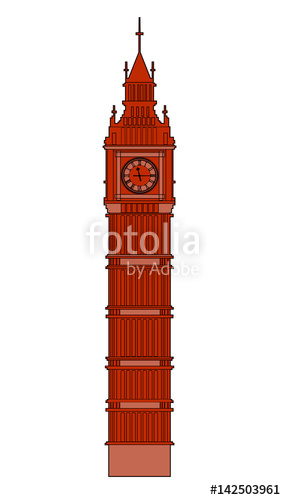 286x500 Big Ben Vector Stock Image And Royalty Free Vector Files On