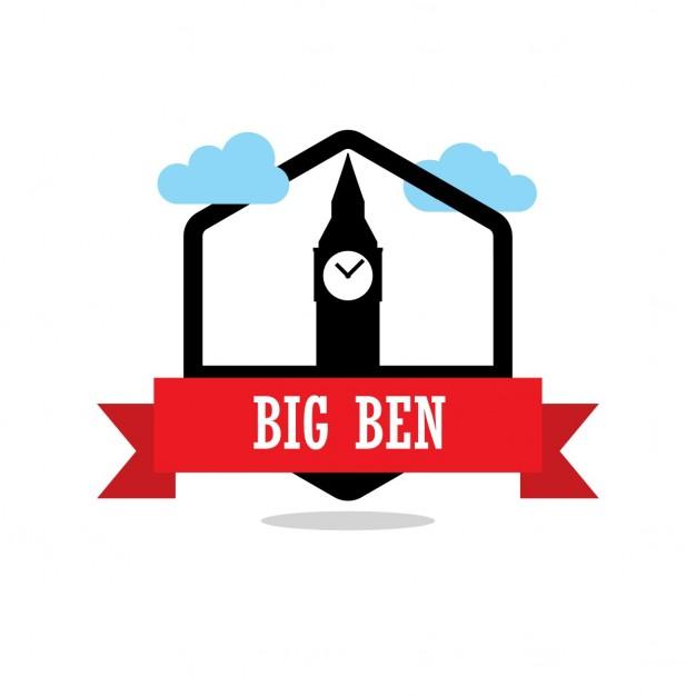 626x626 Big Ben Vector Free Download