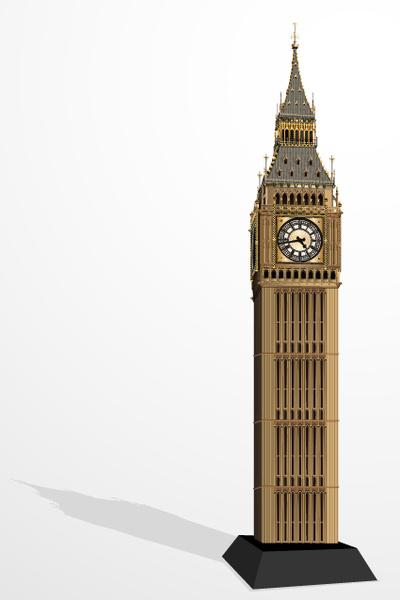 400x600 Elizabeth Tower Big Ben Design Vector Free Vector In Vector