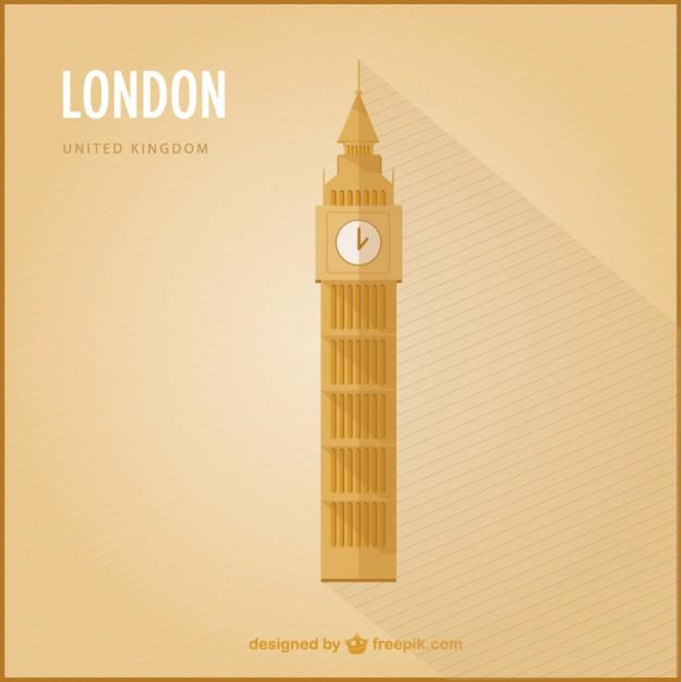 626x626 London Big Ben Vector Free Download