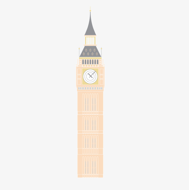 650x651 Vector Big Ben Tower, High Rise, Separate Building, Big Ben Png