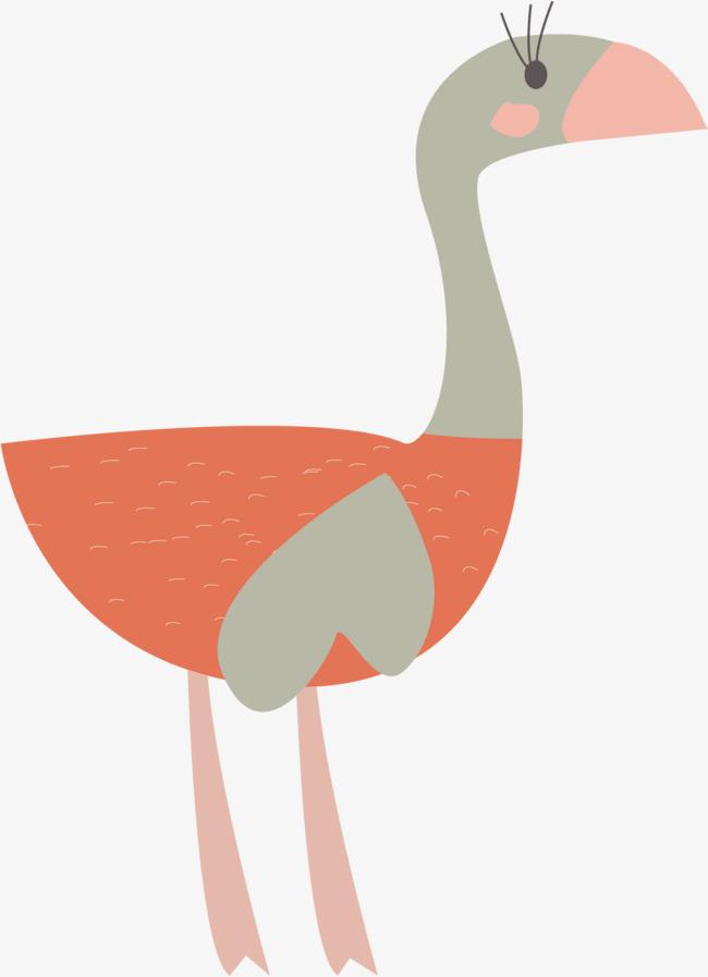 650x897 Orange Bird Vector, Bird Clipart, Big Bird, Hand Painted Png And