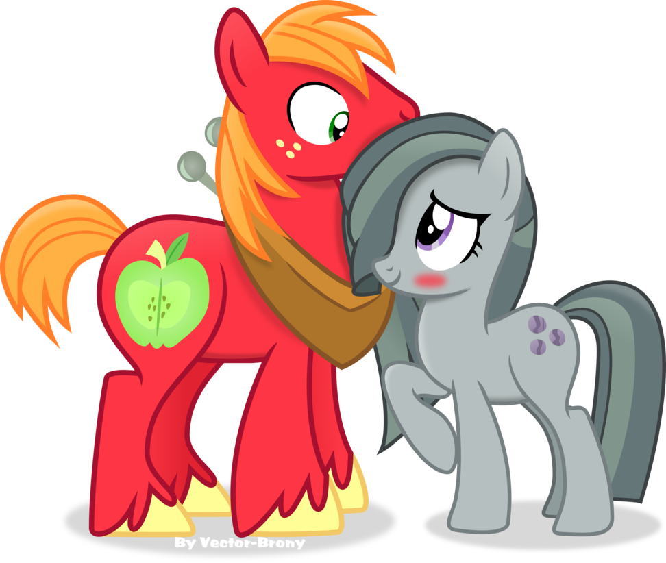972x822 Big Mac And Marble Pie By Vector Brony My Little