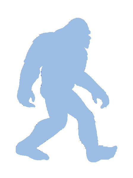 448x600 19 Sasquatch Vector Bigfoot Huge Freebie! Download For Powerpoint